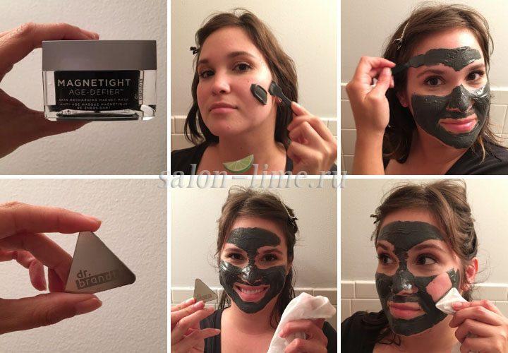 Пошаговая инструкция по нанесению магнитной маски