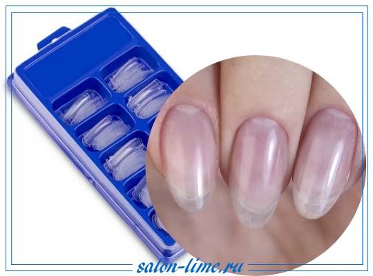 Верхние формы для наращивания гелем и акрилом: технология применения и дизайн готовых ногтей